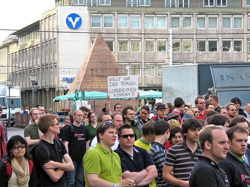 ifng Karlsruhe 5.6.09 - Kundgebung Marktplatz