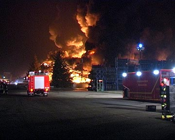 Goodyear-Brand in Philippsburg